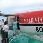 Veligandu resort float plane