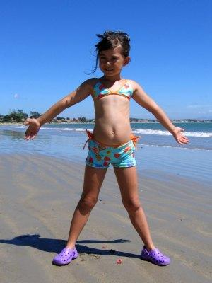 Girl on Praia de Manguinhos, Buzios