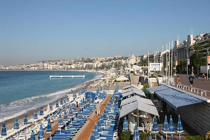 Nice - The Beach and the Promenade des Anglais
