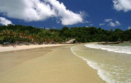 Patong Beach on Phuket Thailand
