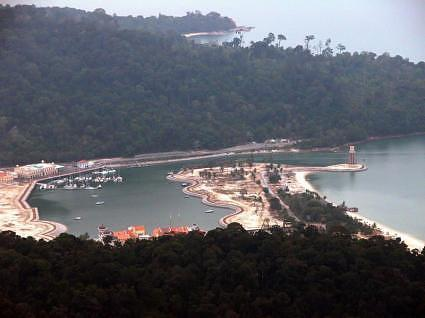 View from Langkawi Cable Car, Malaysia