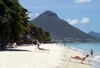 Plage de Flic en Flac, Mauritius