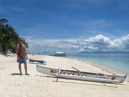 209 - evans on malapascua's sandy beach