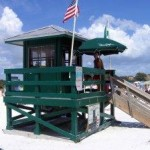 Siesta Key Beach Lifeguard House, Sarasota, Florida
