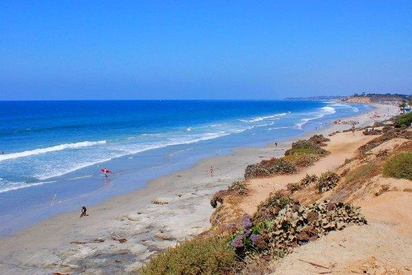 Del Mar City Beach, San Diego