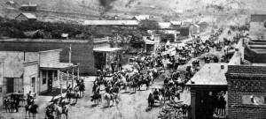 Ventura California in 1874 on the 4th of July