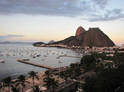 urban beach in Botafogo