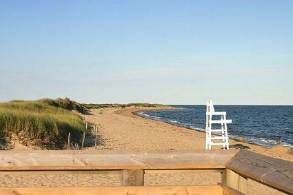 Coast Guard Beach in Cape Cod