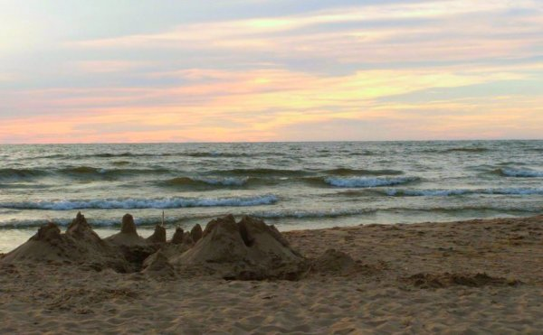 Sunset Oval Beach Michigan