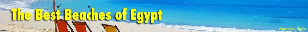 The best beaches of Egypt