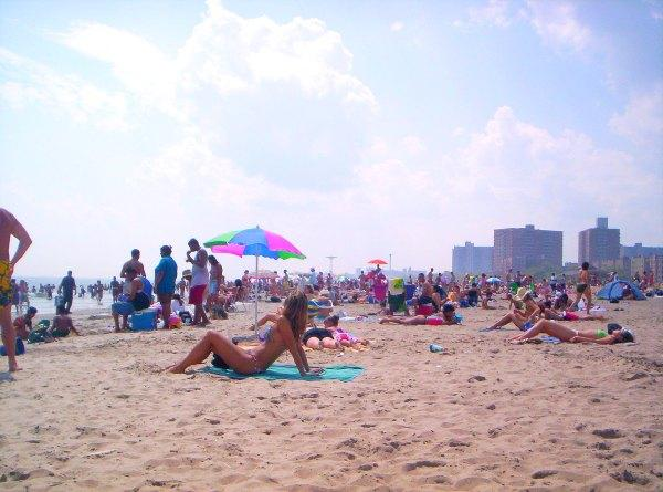 Here S A Beach And Community That Got Its Name From Contest In 1868 William Engemen Developed The Area Just East Of Coney Island Held